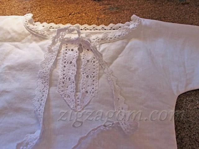 14177f3b62bb3 Крестильная рубашка своими руками — Зигзагом