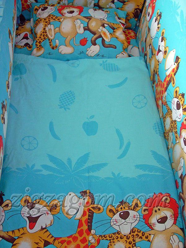 9825e7c439ee Пошив постельного белья в детскую кроватку своими руками — Зигзагом