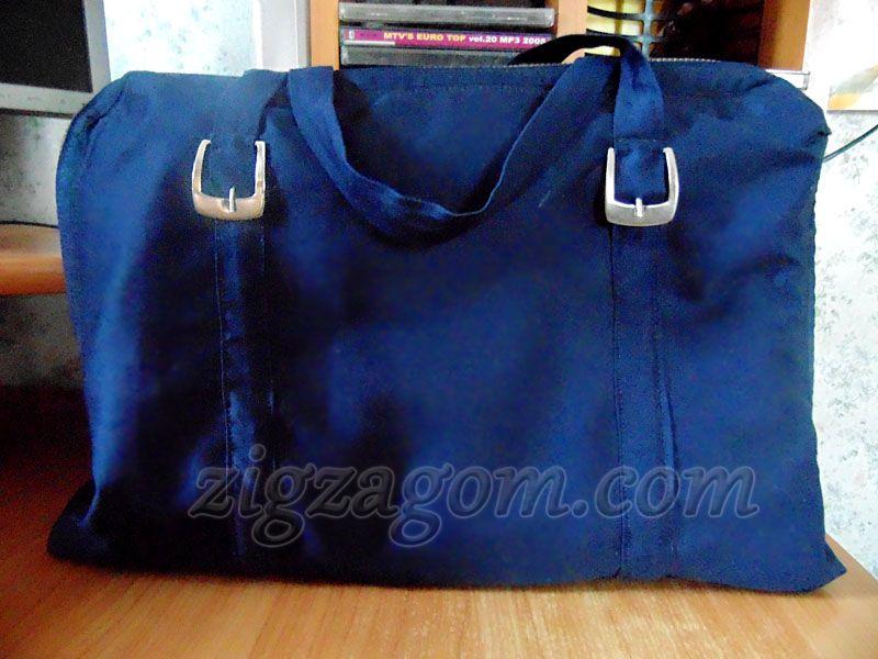 112e8d6a0216 Сумка для ноутбука своими руками — Зигзагом