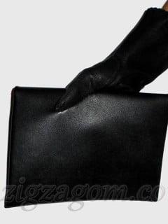 Кожаный клатч своими руками