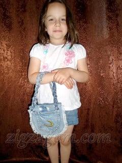 Сумка своими руками из старых джинсов