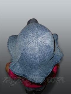 Панамка из старых джинсов своими руками