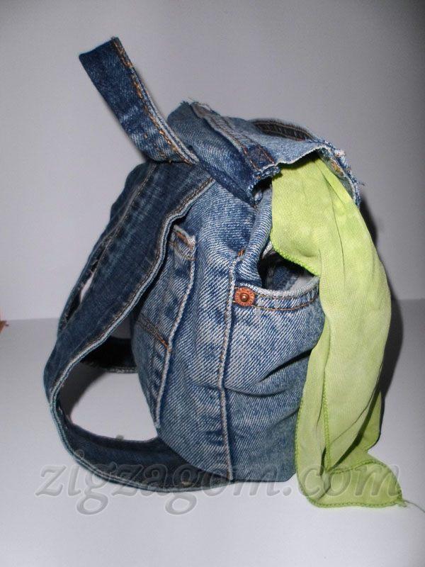1fb5d9315509 Пошить сумку из старых джинсов своими руками - fs-center.ru