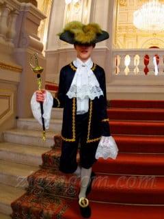 Новогодний костюм для мальчика своими руками. Граф