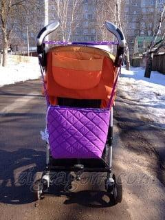 Как сшить сумку для коляски