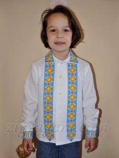 Вышиванка для мальчика своими руками