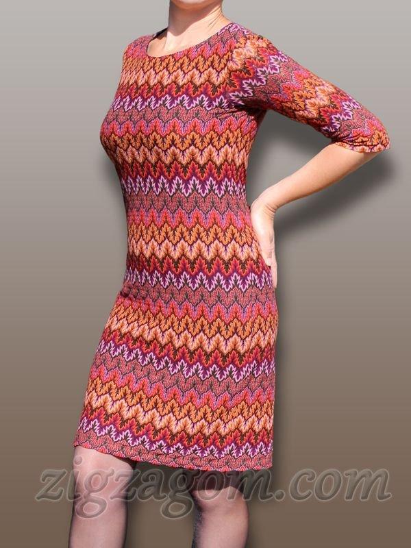 beccddf675e Трикотажное платье своими руками — Зигзагом