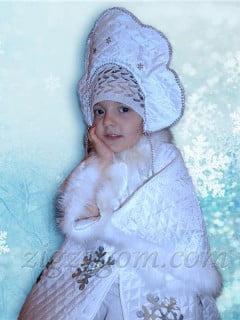 Костюм Снегурочки своими руками