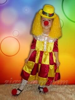 Костюм клоунессы своими руками