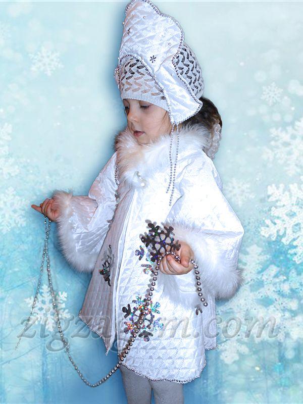 Костюм снежинки для девочки своими руками: модели, способы