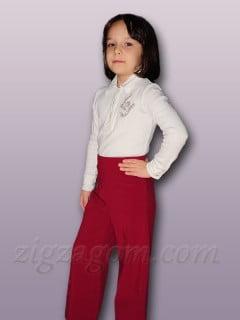 Как сшить брюки для девочки