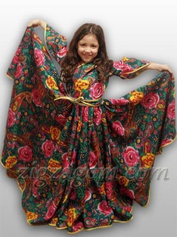Цыганский костюм