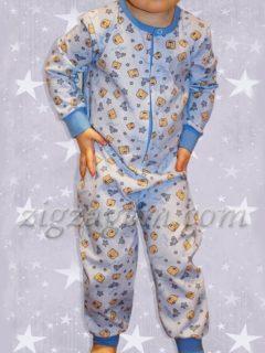 Шьем детскую пижаму-комбинезон
